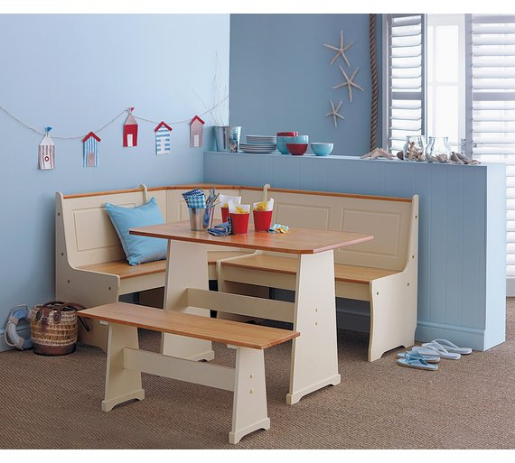 buy home haversham dining table nook corner bench solid pine at