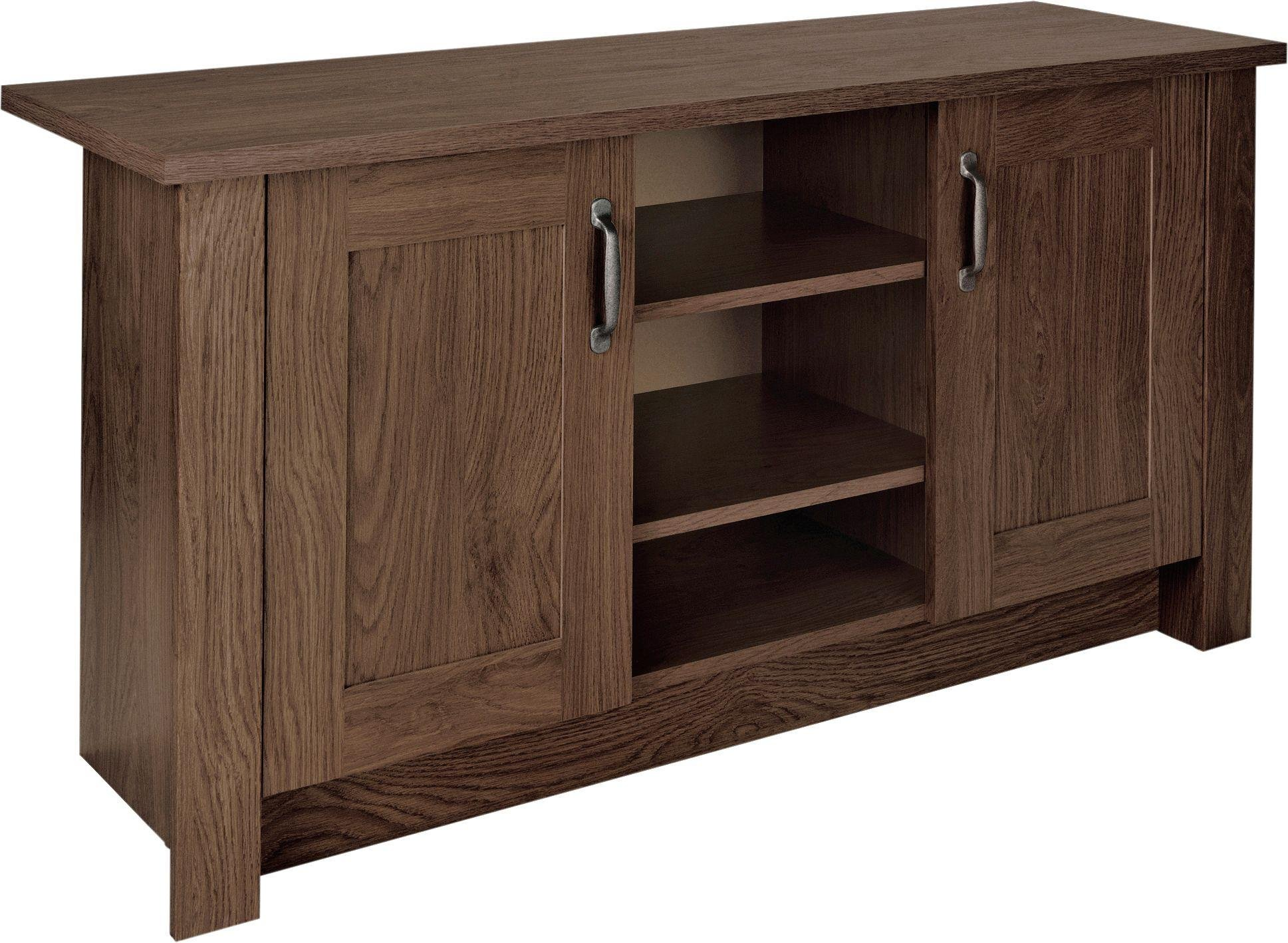 sale on collection ohio 2 door low sideboard tv unit walnut effect the collection by argos now. Black Bedroom Furniture Sets. Home Design Ideas