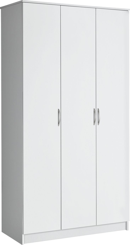 Argos Home Cheval 3 Door Wardrobe - White