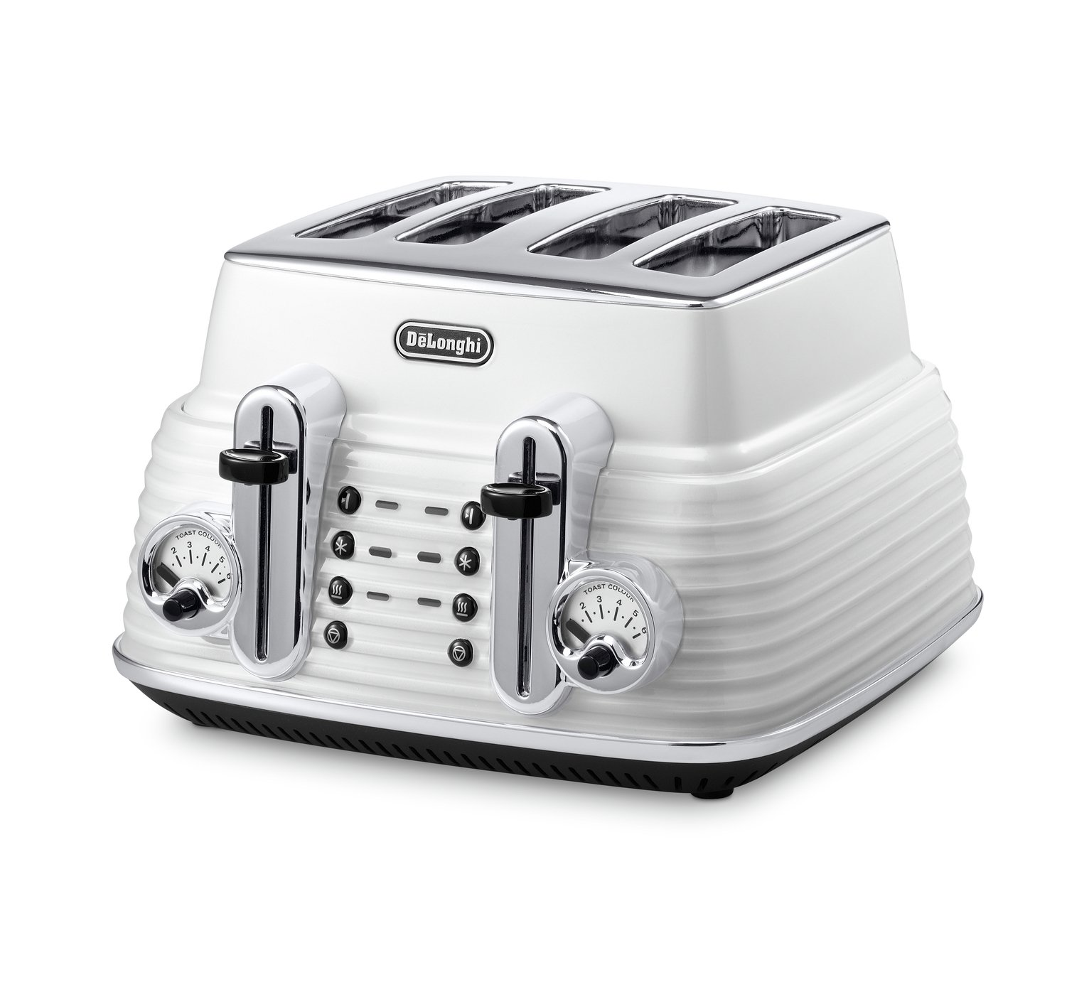 DeLonghi - Toaster - Scultura - 4 Slice - White