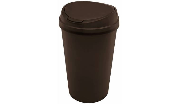 Curver 45 Litre Touch Top Bin - Black
