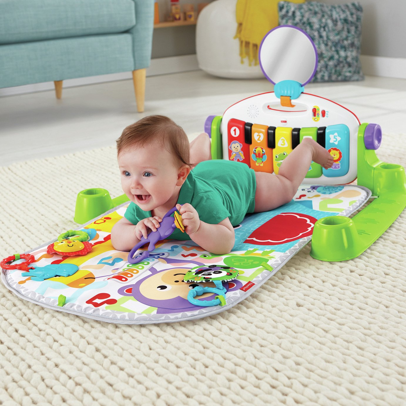 Fisher-Price Kick 'n' Play Piano Baby Gym