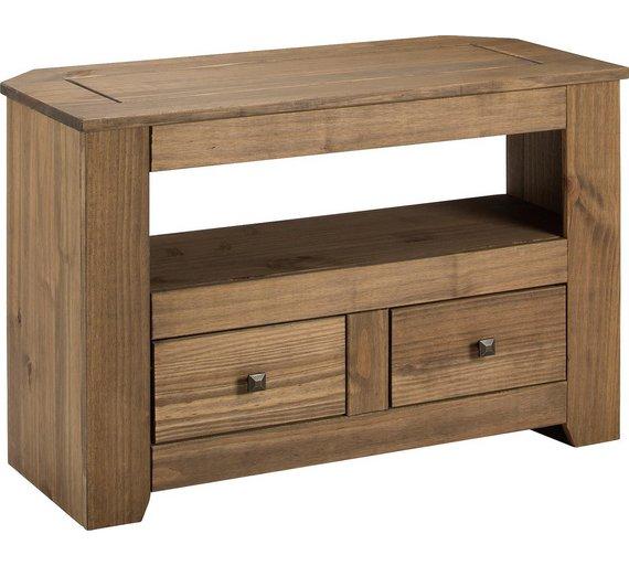 Buy HOME Amersham 2 Drawer Solid Wood TV Unit