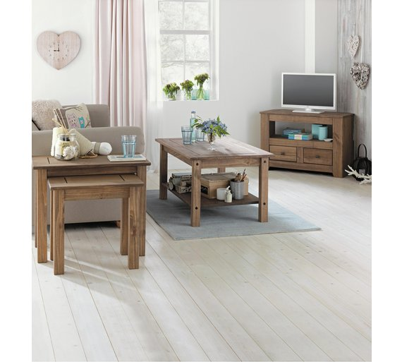 Buy Home Amersham 2 Drawer Tv Unit Dark Solid Pine At