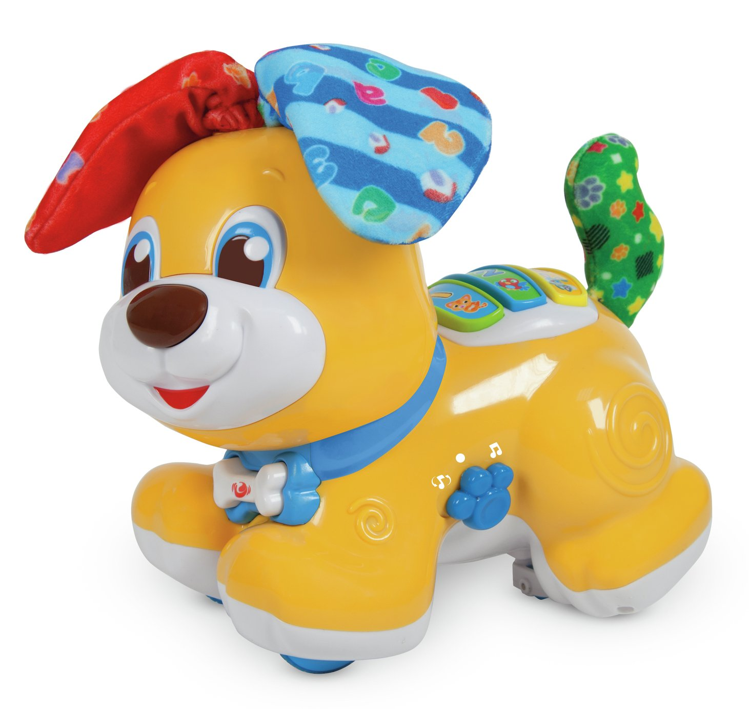 Baby Clementoni Peek-a-boo Dog