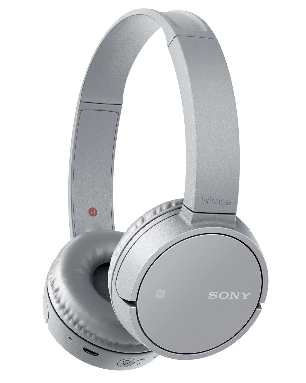 Sony WH-CH500 On - Ear Wireless Headphones - Grey