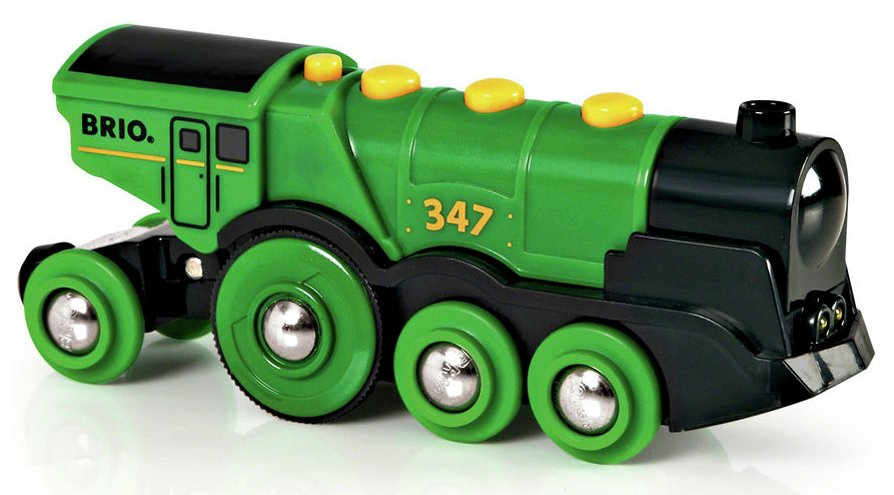 BRIO Big Green Action Locomotive Engine