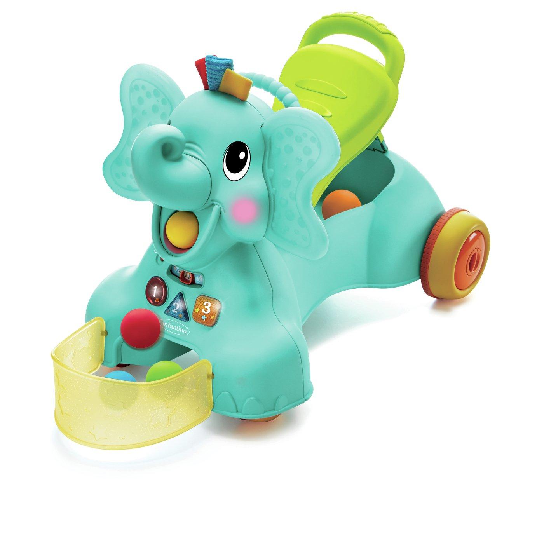 Infantino Sit Walk n Ride-on Elephant