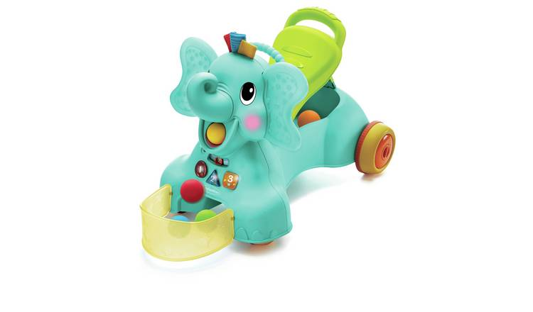 Infantino Sit Walk n Ride-on Elephant