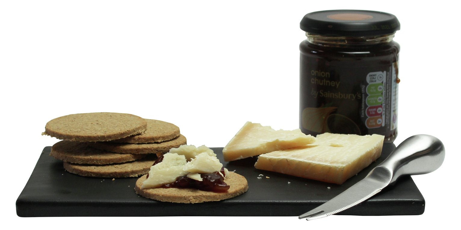 Argos Home Cheese Board and Chutney Set