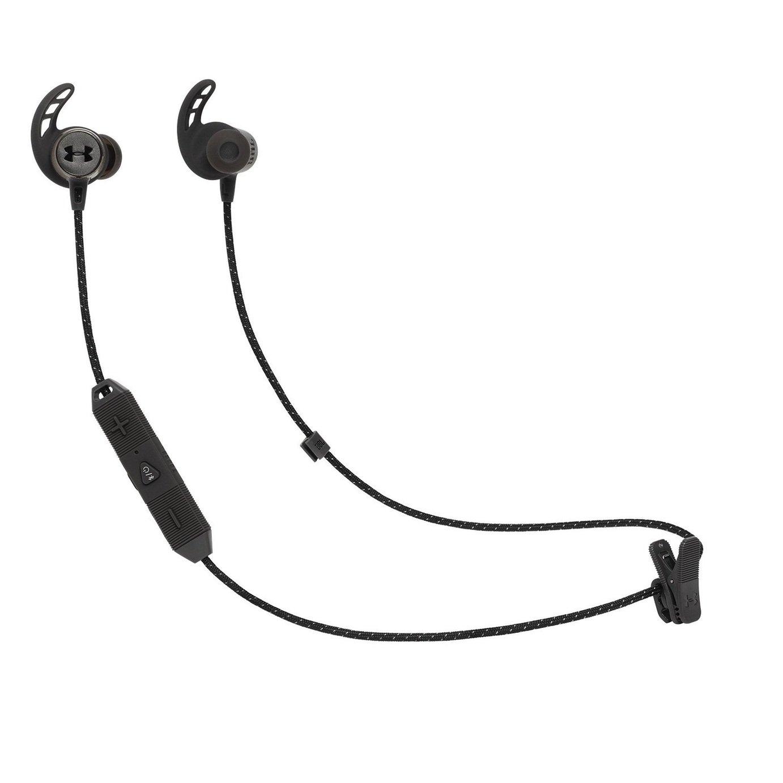 JBL Under Armour React In- Ear Wireless Headphones -Black