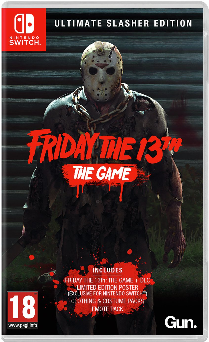 Friday the 13th Ultimate Slasher Edn Switch Pre-Order Game