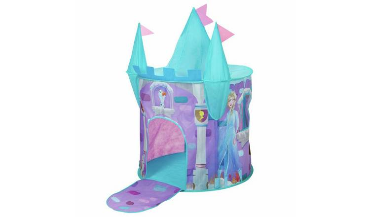 sale retailer d32e6 cdd85 Buy Disney Frozen Castle Feature Pop Up Play Tent | Play tents | Argos
