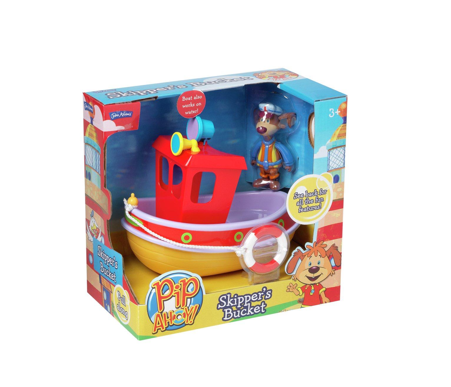 Pip Ahoy Skippers Bucket Tug Boat