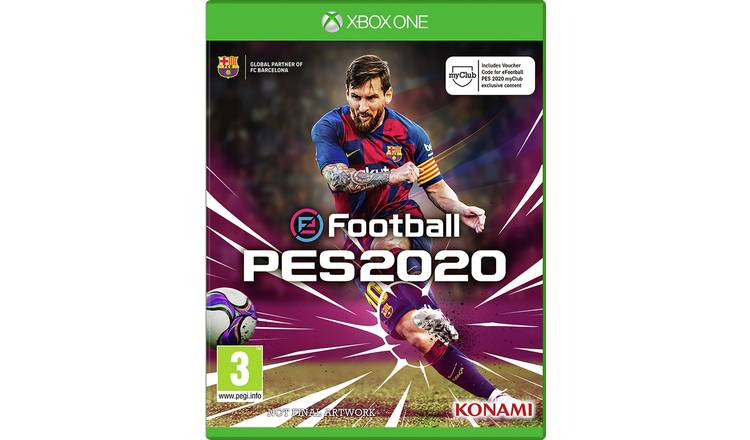2020 Xbox One Games.Buy Pes 2020 Xbox One Game Xbox One Games Argos