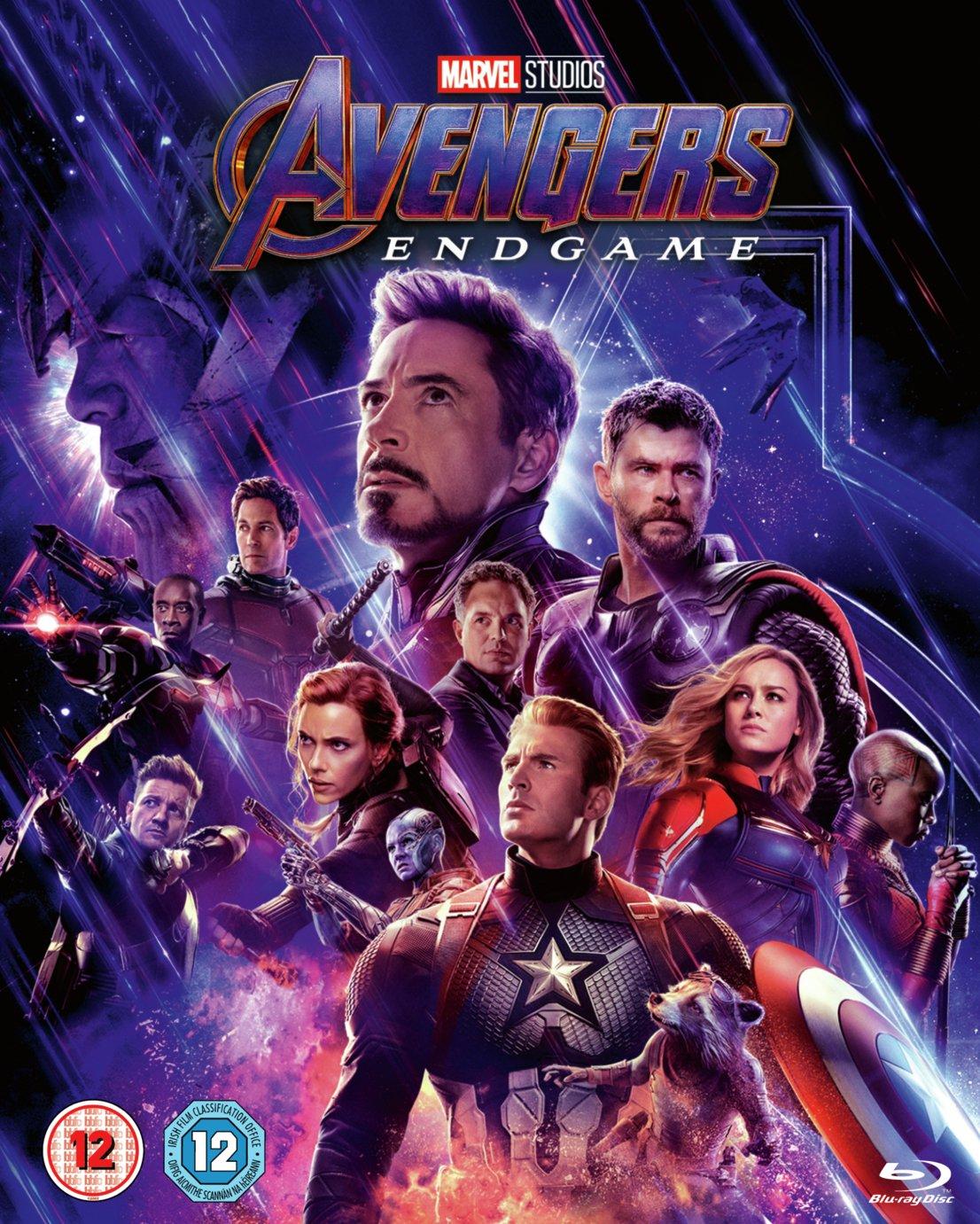 Marvel's Avengers: Endgame Blu-Ray