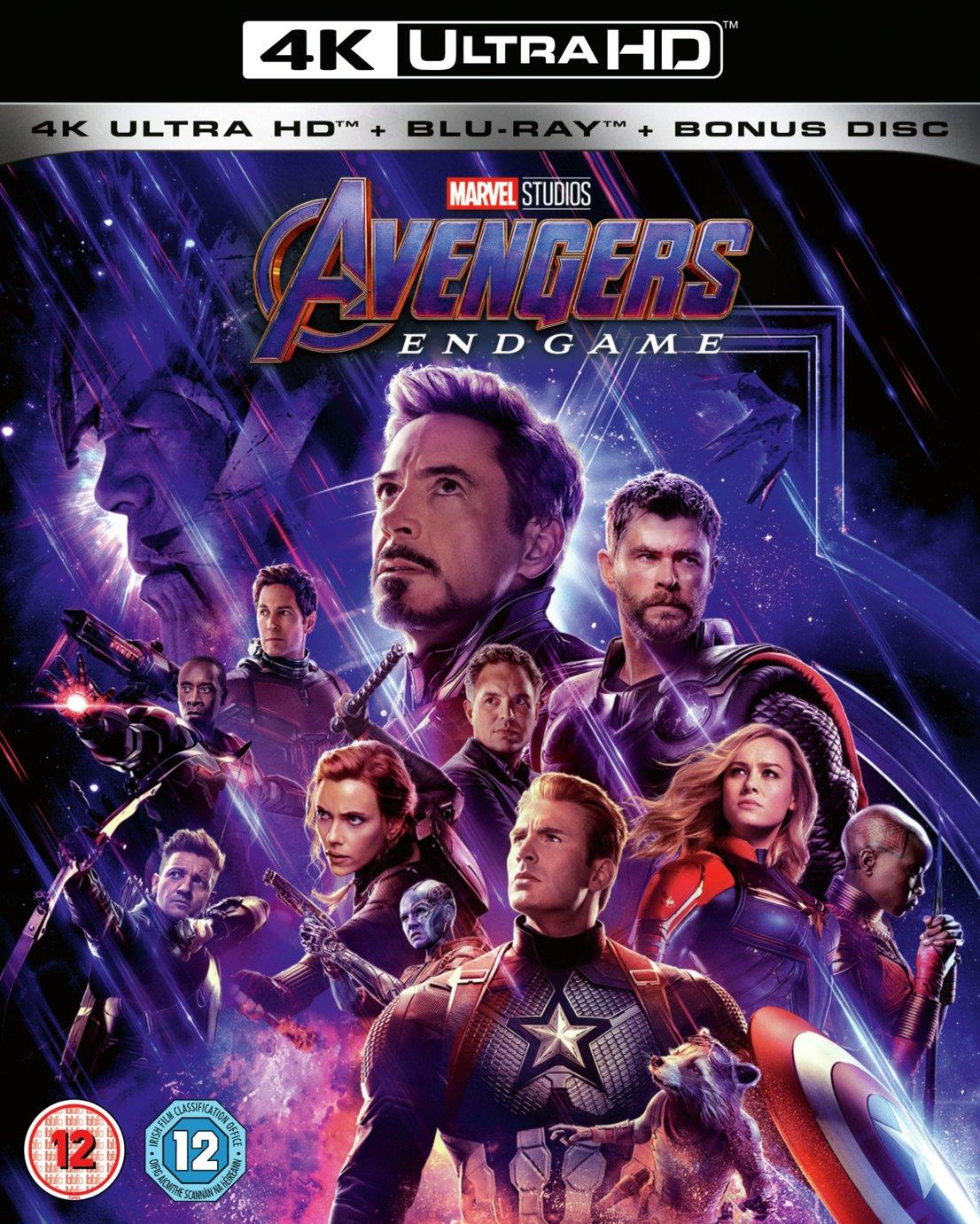 Marvel's Avengers: Endgame 4K UHD Blu-Ray