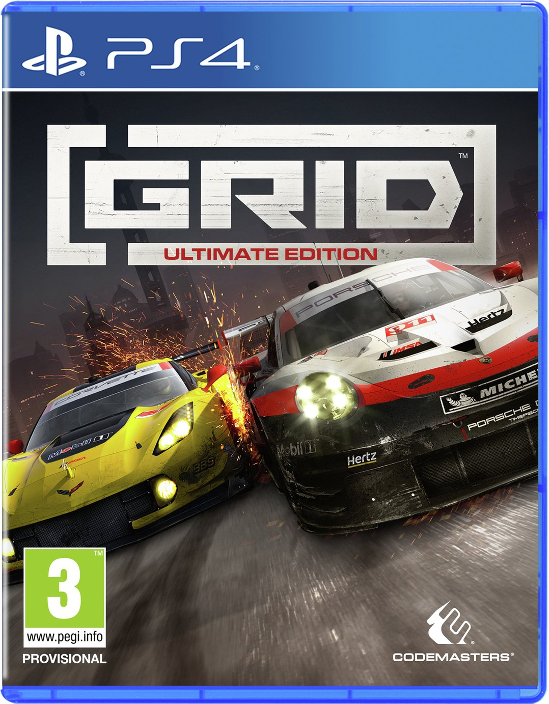 Grid Ultimate Edition PS4 Pre-Order Game