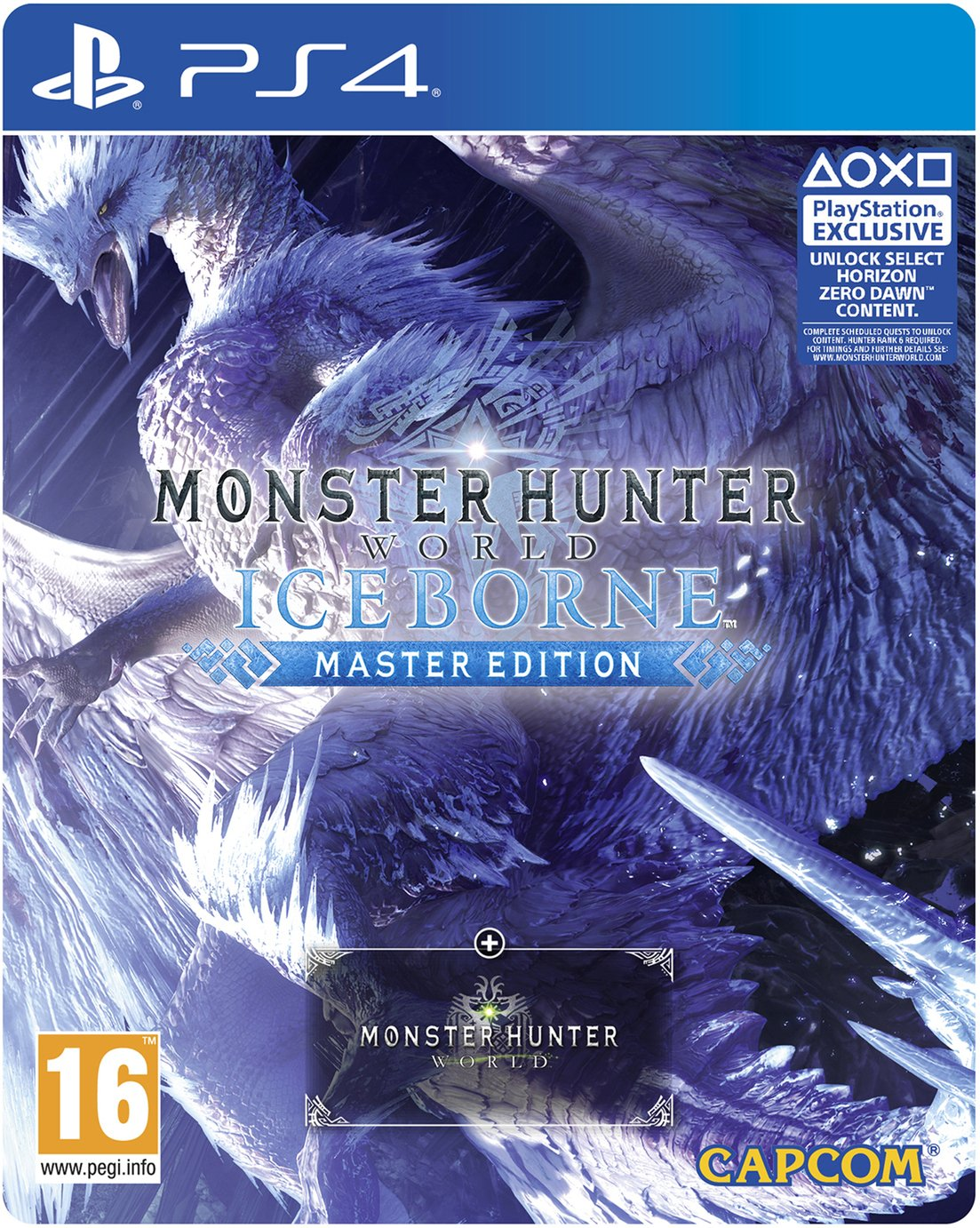 Monster Hunter World: Iceborne Master Edn PS4 Pre-Order Game