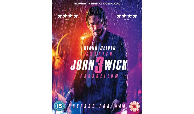 John Wick Chapter 3 Parabellum Blu-Ray
