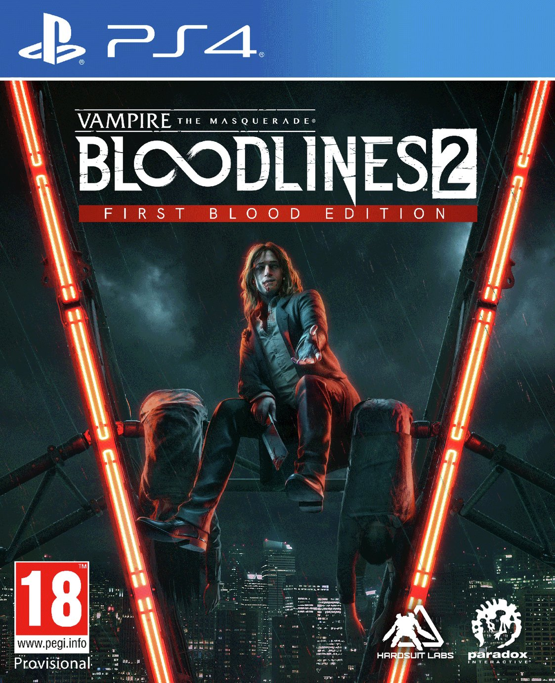 Vampire: The Masquerade Bloodlines 2 PS4 Pre-Order Game