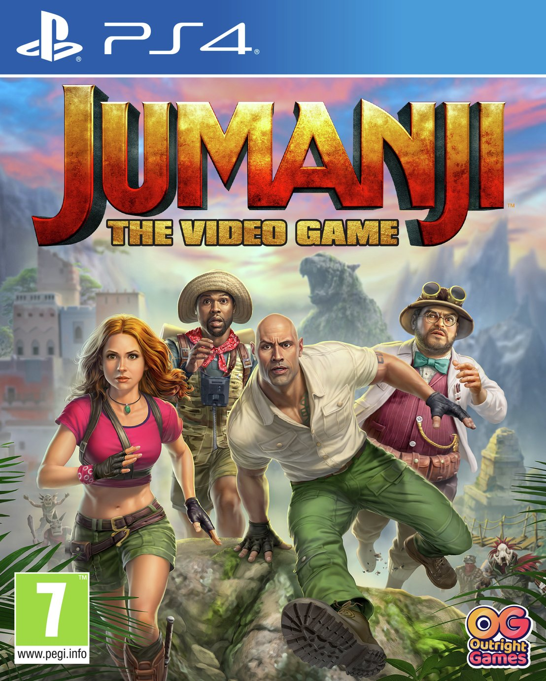Jumanji: The Video Game PS4 Pre-Order Game