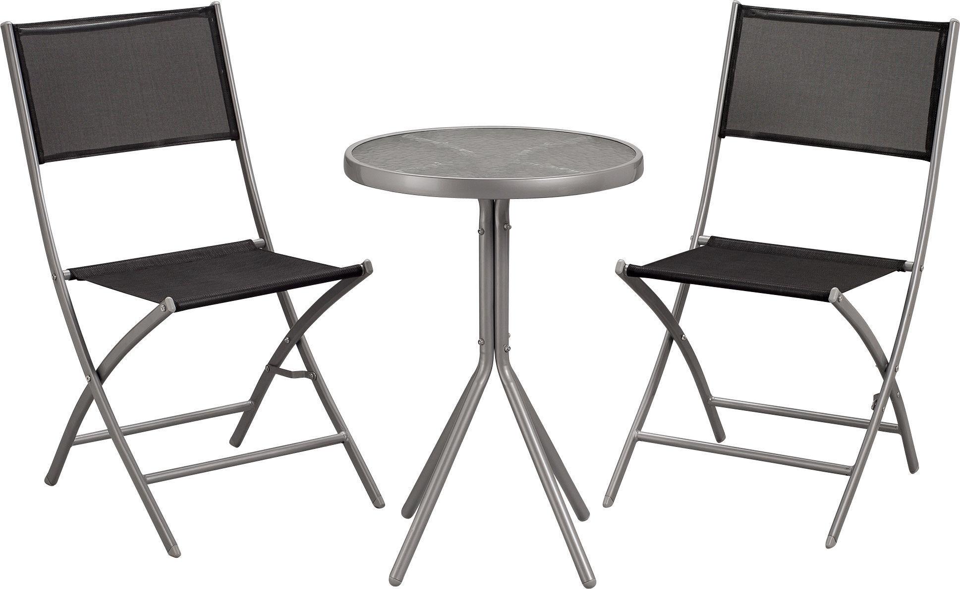 Buy Argos Home Kara 2 Seater Metal Bistro Set Garden Table And