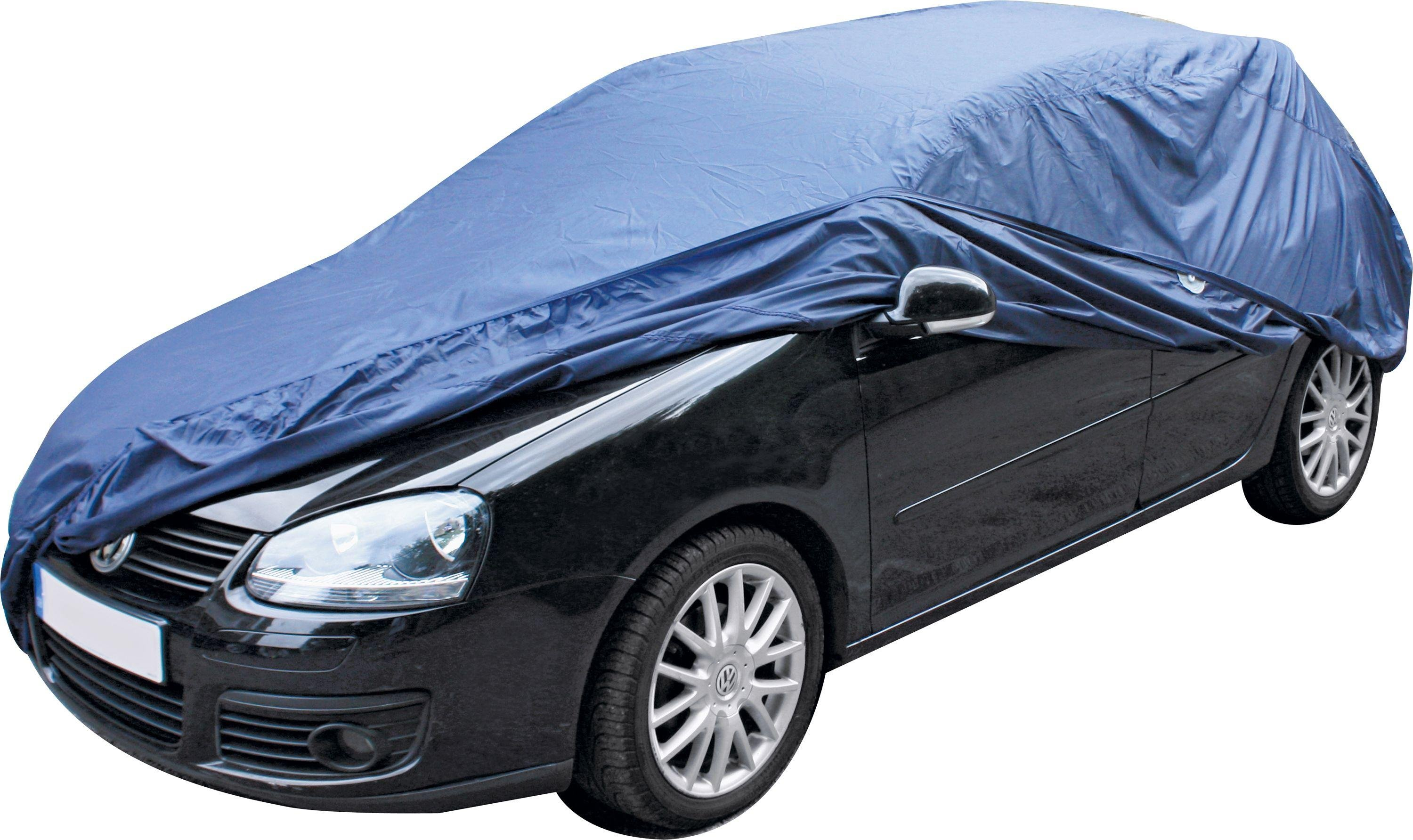 Blue Full Car Cover - Medium