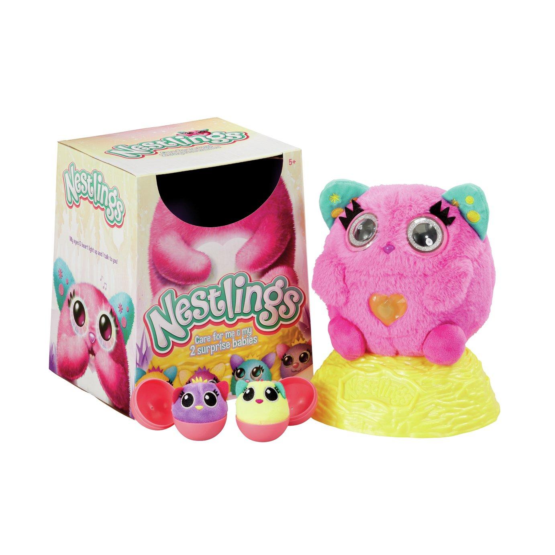 Nestlings Pink Figure
