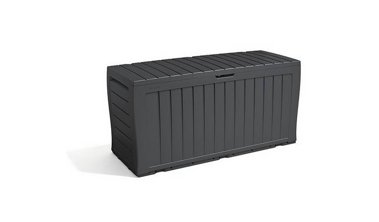 Keter Marvel+ 270L Garden Storage Box - Grey