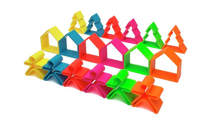 Dena 18 Piece Silicone Sensory Toy Set
