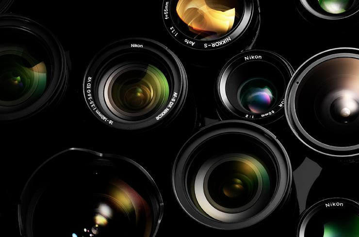 Shop Nikon camera lenses.