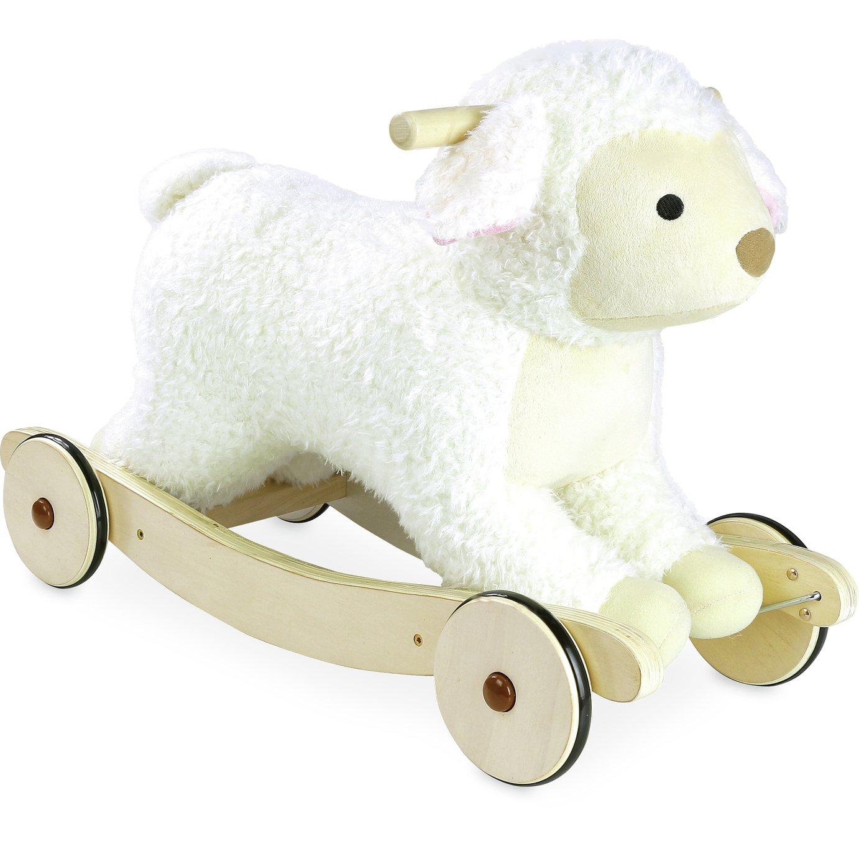 Vilac Plush Sheep 2-in-1 Rocker Rider