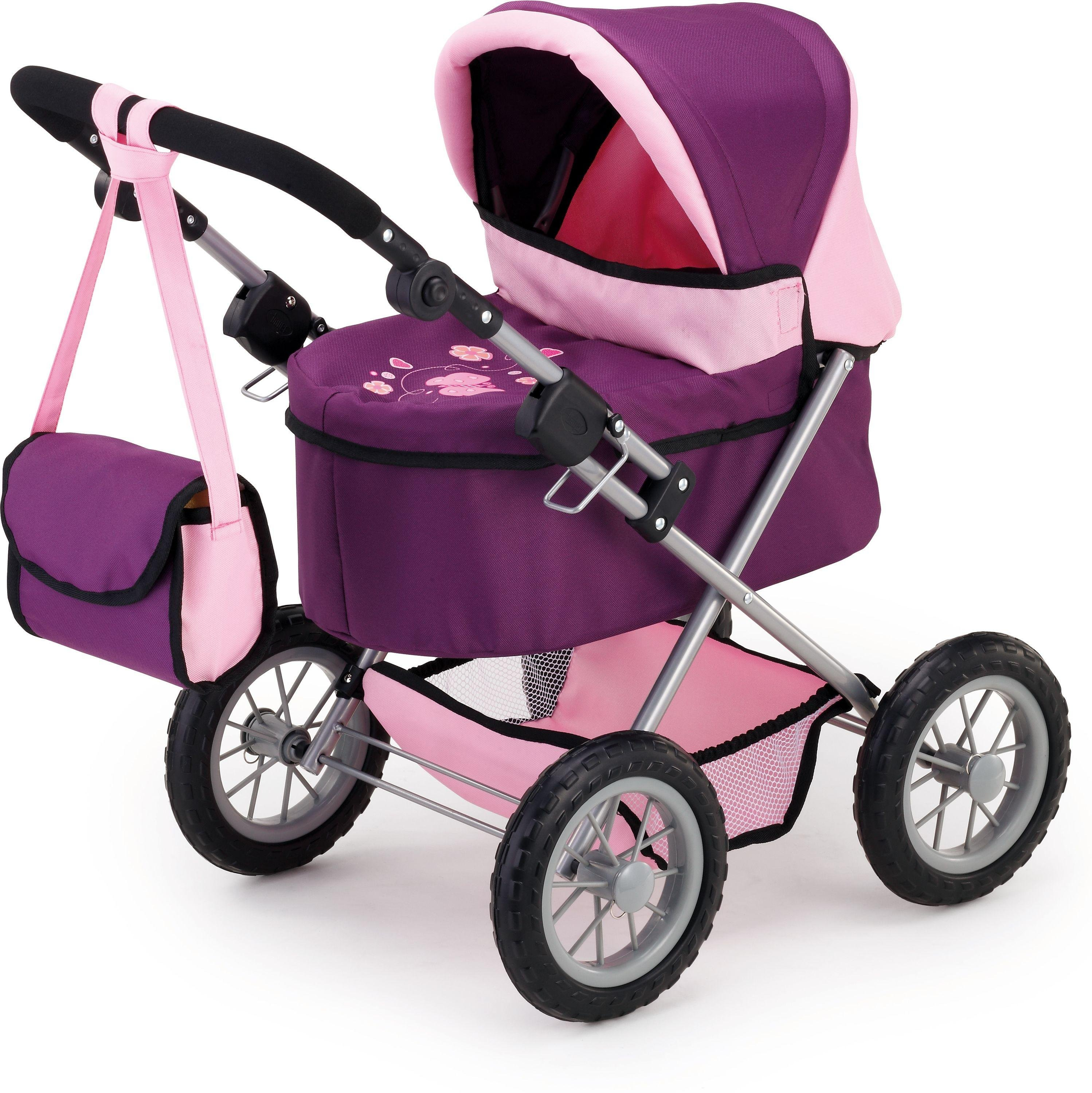 Image of Bayer - Design Trendy Doll Pram - Mauve