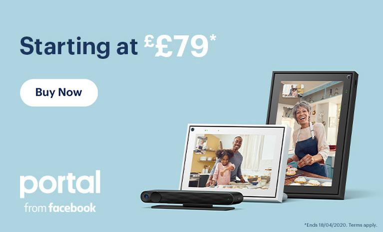 Starting at £79. Ends 18/4*. Portal from Facebook.