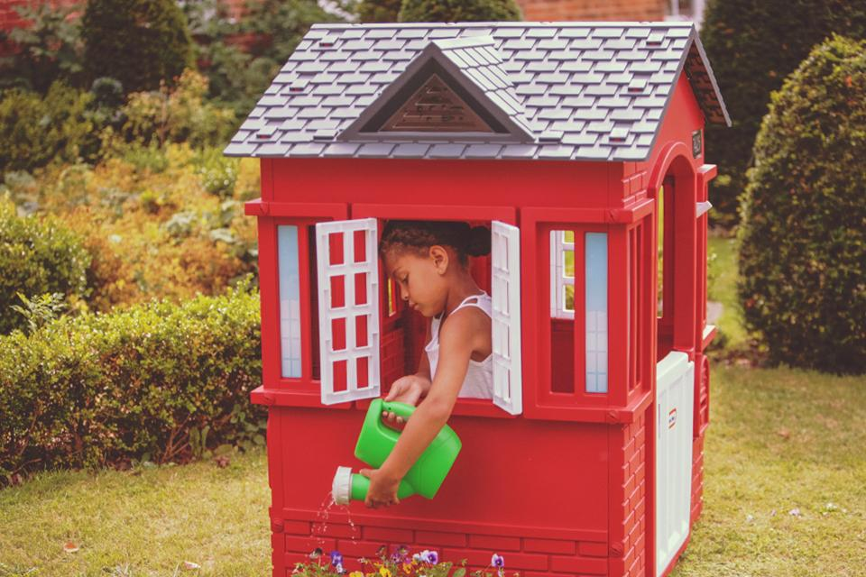 Shop Little Tikes playhouses.