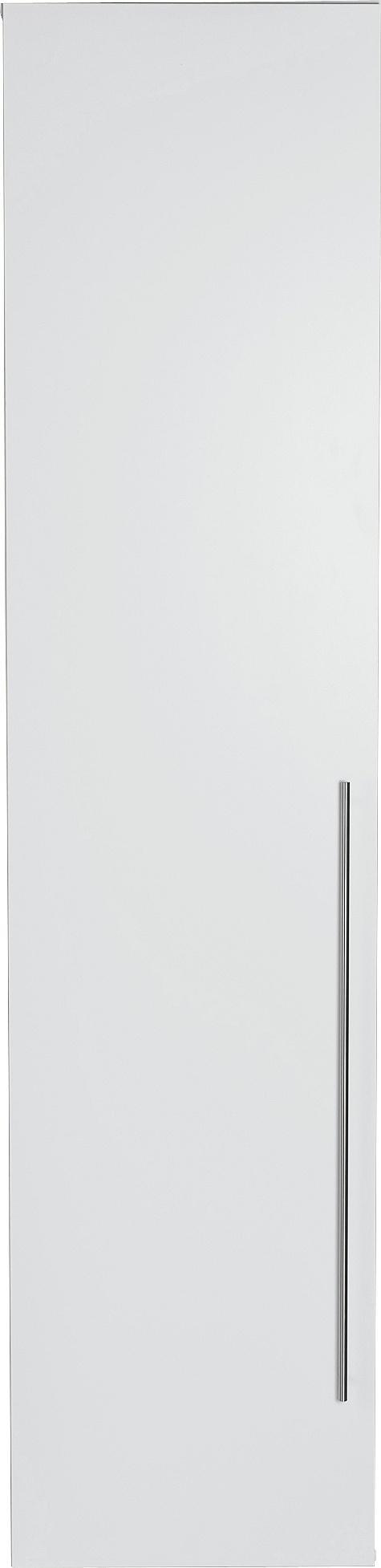 Argos Home Atlas 1 Door Tall Wardrobe - White