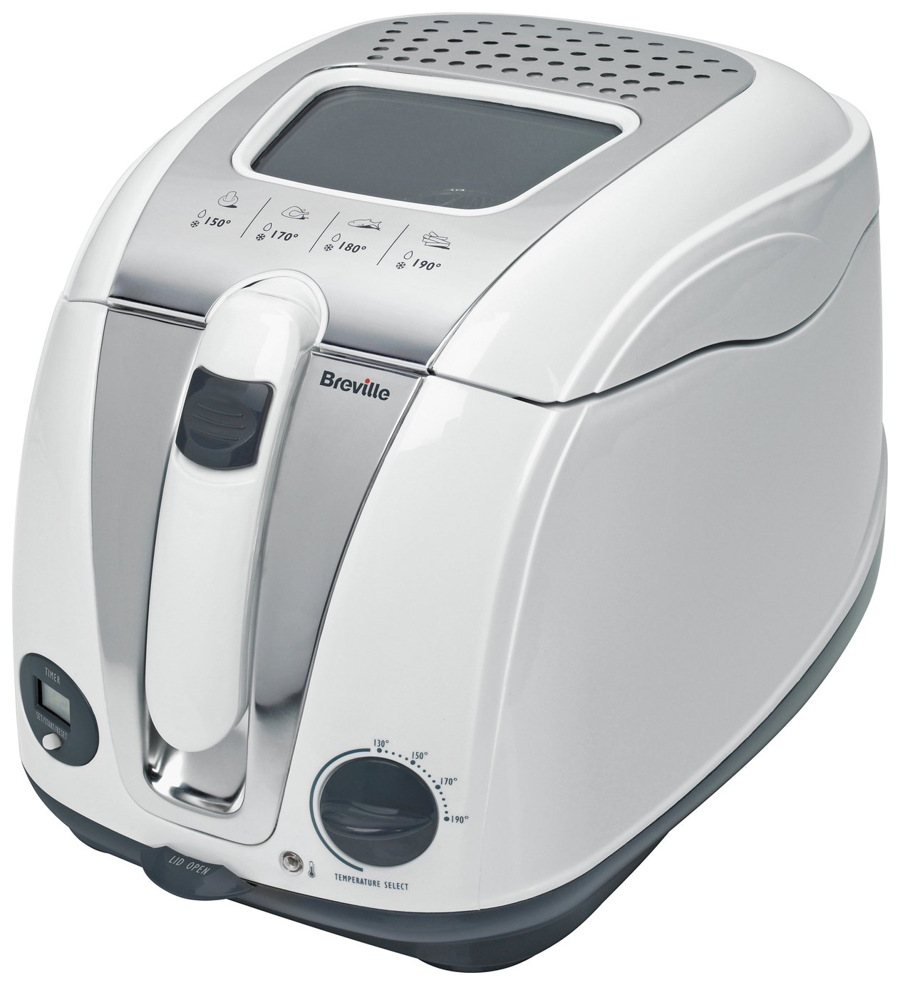 Image of Breville - VDF108 Digital - Fryer - White