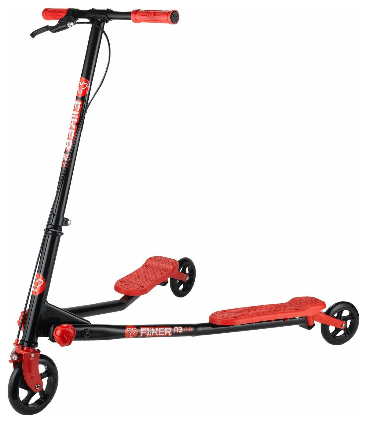 Yvolution Y Fliker A3 Air Scooter - Red