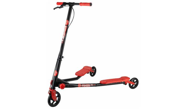 Y Fliker Scooter >> Buy Yvolution Y Fliker A3 Air Scooter Red Scooters Argos