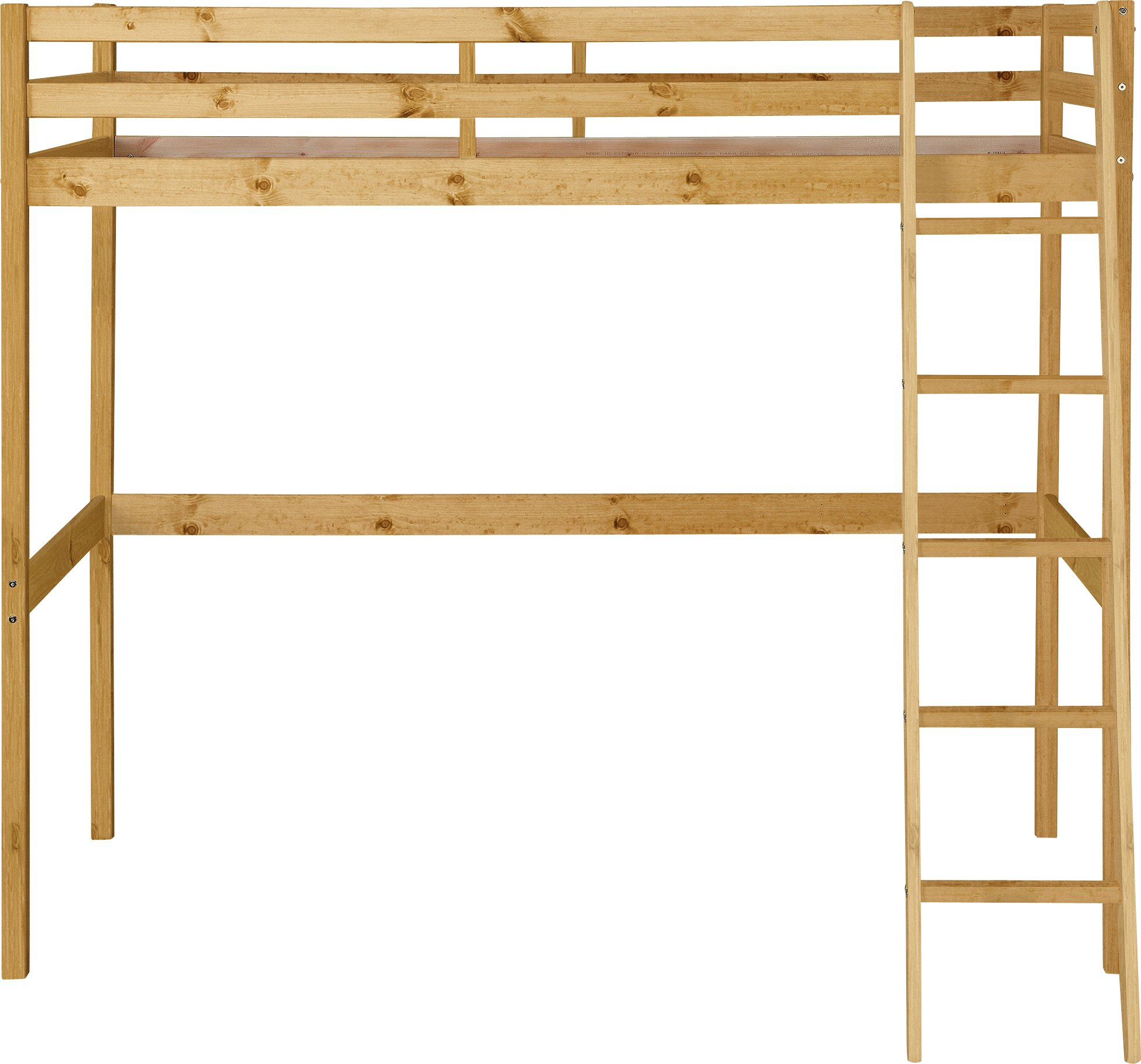 Argos Home Kaycie High Sleeper Single Bed Frame - Pine