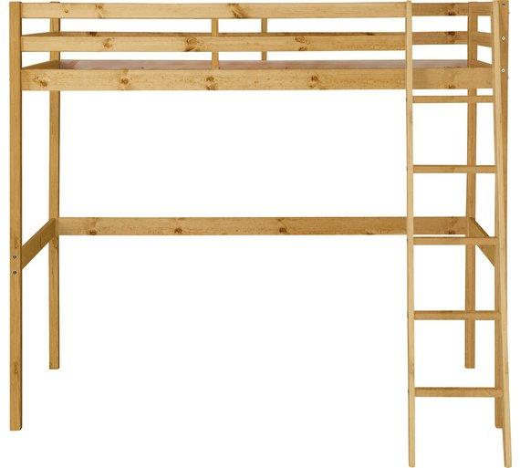 Buy Argos Home Kaycie Wood High Sleeper Single Bed Frame