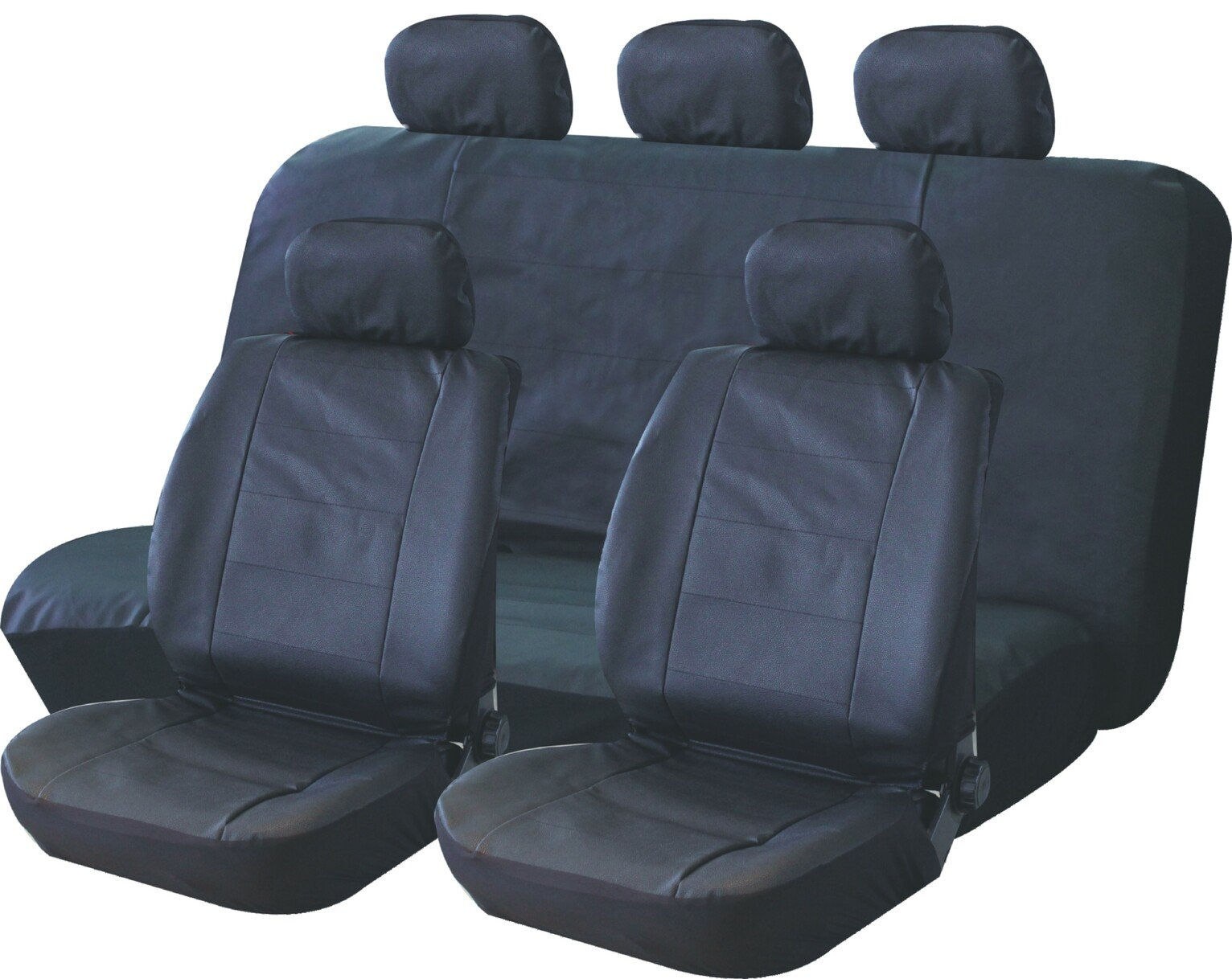 Streetwize Leather Look Complete Car Seat Cover Set
