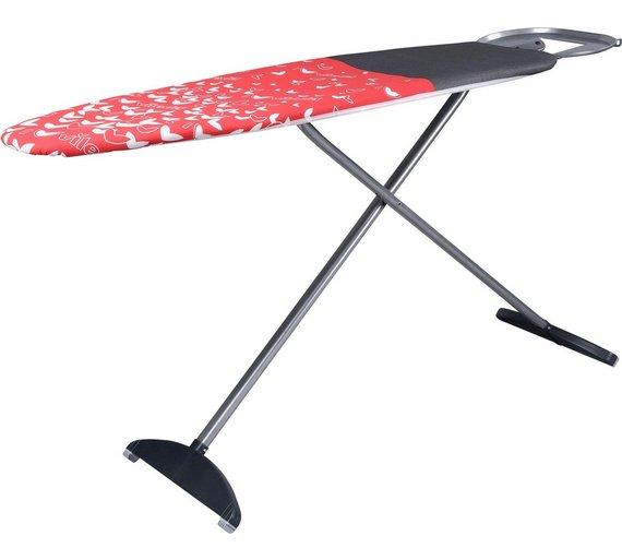 vileda 130 x 44cm redexpress park and go ironing board. Black Bedroom Furniture Sets. Home Design Ideas