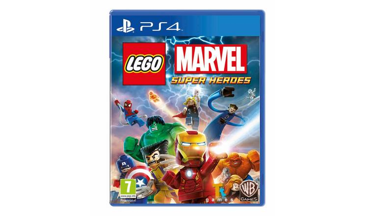 Buy LEGO Marvel Super Heroes PS4 Game | PS4 games | Argos