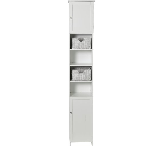 narrow storage bathroom gloss cupboard com soft in white unique eyagci styles koncept thailand tall cabinet with lastest side