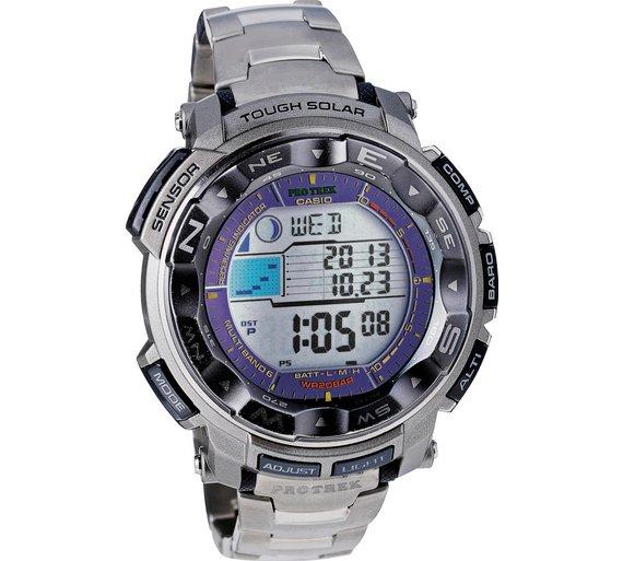 Buy Casio Protrek Grey Titanium Sport Watch  705bd8f3914f