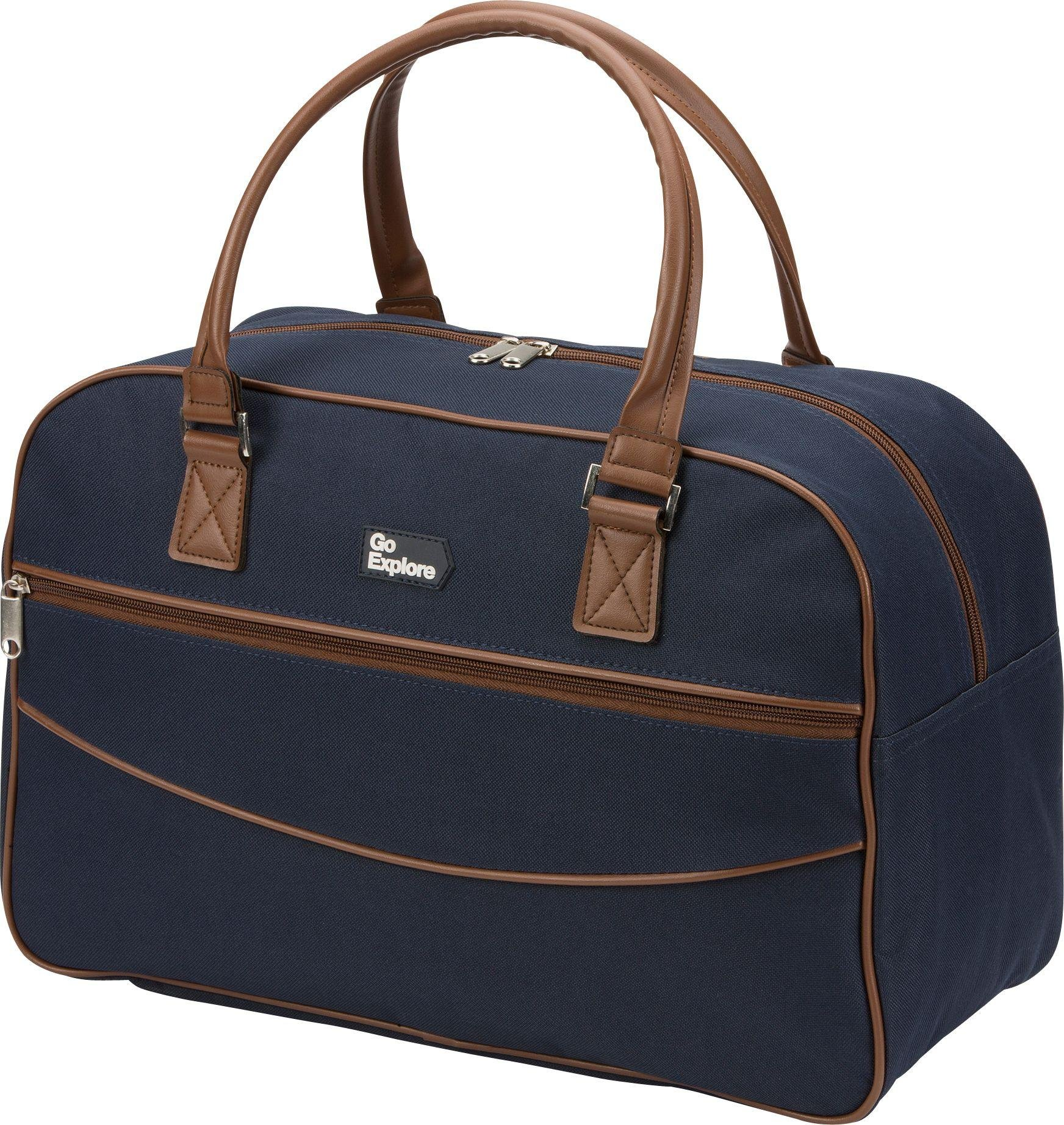 Go Explore - Weekend Holdall - Navy lowest price