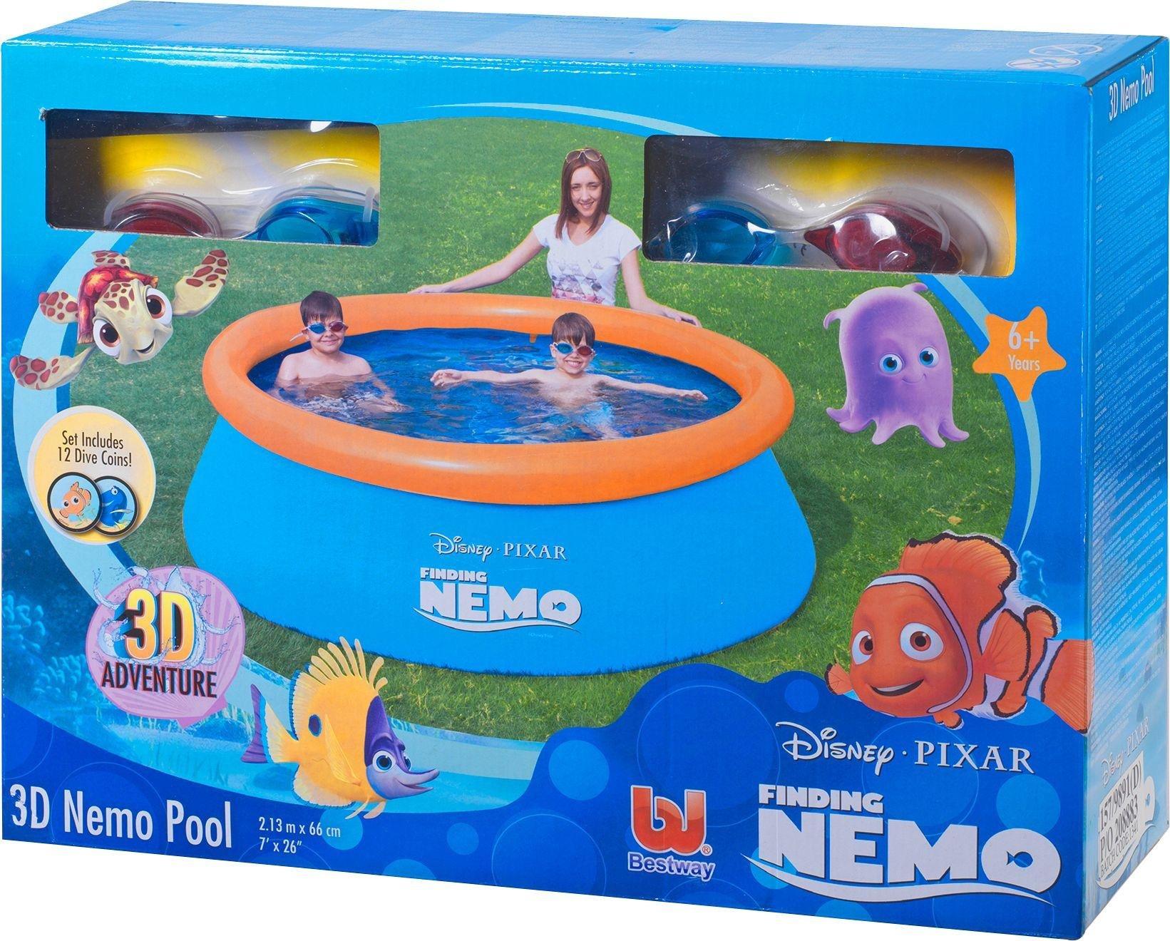Disney   Finding Nemo 3D Paddling Pool