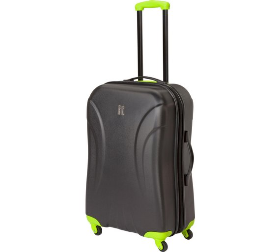 Buy IT Luggage Small Expandable 4 Wheel Hard Case - Black at Argos ...
